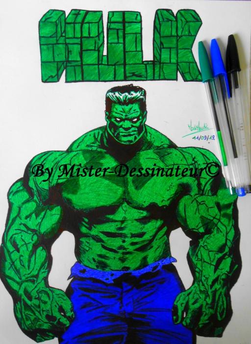 Hulk par MisterDessinateur45